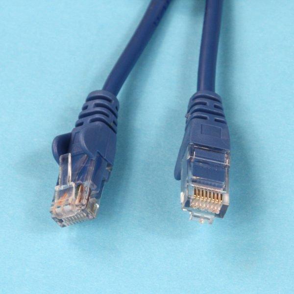 Cat5e RJ45 Connectors Blue