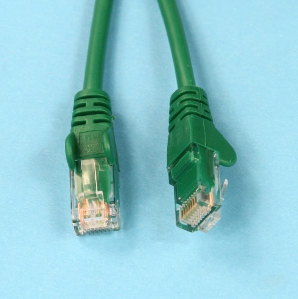 Cat5e RJ45 Connectors Green