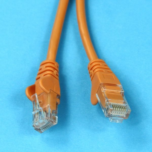 Cat5e RJ45 Connectors Orange