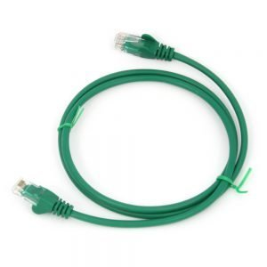Cat5e RJ45 Patch Lead Green