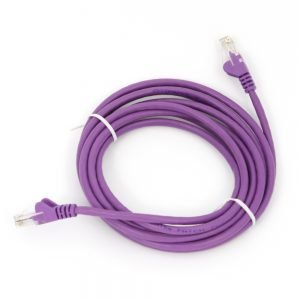 Cat5e RJ45 Patch Lead Purple