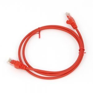 Cat5e RJ45 Patch Lead Red