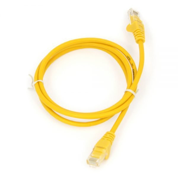 Cat5e RJ45 Patch Lead Yellow