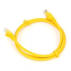 Cat6 RJ45 Patch Lead Yellow