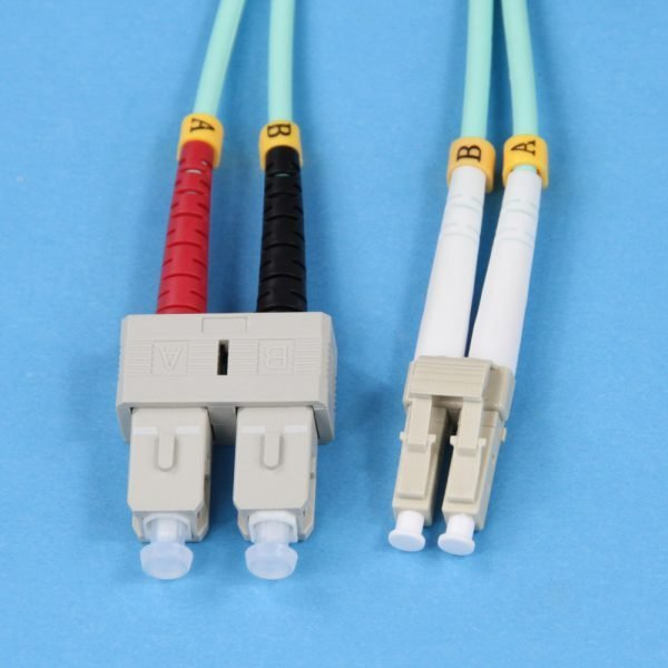 OM3 LC to SC Connectors